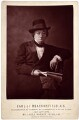 Benjamin Disraeli, Earl of Beaconsfield, by (Cornelius) Jabez Hughes - NPG x665