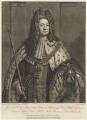 King George I, by John Faber Jr, after  Sir Godfrey Kneller, Bt - NPG D10755