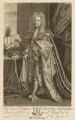 King George II, by Michael Vandergucht, after  Sir Godfrey Kneller, Bt - NPG D10760