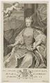 Caroline Wilhelmina of Brandenburg-Ansbach, by George Vertue, after  Jacopo Amigoni - NPG D10771
