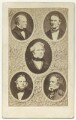 Carte-de-visite photomontage featuring John Russell, John Bright and others.., by Unknown photographer - NPG x4330