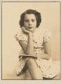Barbara Adler Katzander (née Adler), by Dorothy Wilding - NPG x4343