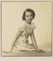 Barbara Adler Katzander (née Adler), by Dorothy Wilding - NPG x4346