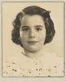Barbara Adler Katzander (née Adler), by Dorothy Wilding - NPG x4347