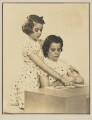Nancy J. Adler; Barbara Adler Katzander (née Adler), by Dorothy Wilding - NPG x4348