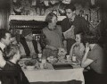 'Tea Table Politics' (Richard Crossman talks to Mr and Mrs Robbins), by Harold Tomlin - NPG x44643
