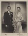 Albert Kevin Alan Kaplan; Dame Simone Ruth Prendergast (née Laski), by Lenare - NPG x45107