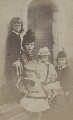 Alexandra of Denmark with her children, by Unknown photographer - NPG x45222