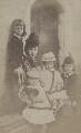 Alexandra of Denmark with her children, by Unknown photographer - NPG x45222