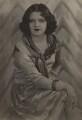 Hermione Baddeley, by Dudley Glanfield - NPG x45233