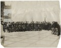Benjamin Stone photographing a large group on the terrace of the House of Commons, by London News Agency - NPG x45356