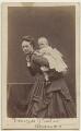 Queen Alexandra; Princess Louise, Duchess of Fife, by W. & D. Downey - NPG x22090