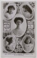 'H.R.H. Princess Arthur of Connaught (the Duchess of Fife) and her bridesmaids', published by Rotary Photographic Co Ltd, after  Lallie Charles (née Charlotte Elizabeth Martin), and after  Speaight Ltd - NPG x45767