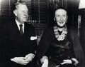 Sir Osbert Sitwell; Edith Sitwell, by Ruth Sondak - NPG x45790