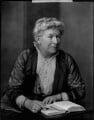 Mary Augusta Ward (née Arnold), by Henry Walter ('H. Walter') Barnett - NPG x46020