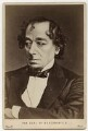 Benjamin Disraeli, Earl of Beaconsfield, by Mayall - NPG x46496