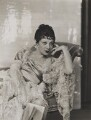 Gertrude Lawrence in 'Hervey House', by Dorothy Wilding - NPG x46502