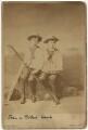 Hon. Robert Arthur Ward; Sir John Hubert Ward, by Henry Peach Robinson - NPG x47105