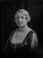 Carolina Mary (née Lobb), Lady Aitken, by Lafayette (Lafayette Ltd) - NPG x47413