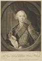King George III, by James Macardell, after  David Lüders - NPG D10802
