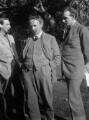 Oliver Strachey; G.E. Moore; John Maynard Keynes, Baron Keynes, by Rachel Pearsall Conn ('Ray') Strachey (née Costelloe) - NPG x88548