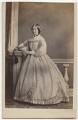 Mrs Bruce (née Mount), by Ayles & Bonniwell - NPG x4833