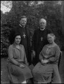 Frances Gertrude Acland Temple (née Anson); Gertrude Warman (née Earle); (Frederick Sumpter) Guy Warman; William Temple, by Lafayette (Lafayette Ltd) - NPG x48943