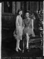 Lady Margaret Frances Anne Vane-Tempest-Stewart; Lady Helen Maglona Walsh (née Vane-Tempest-Stewart), by Lafayette (Lafayette Ltd) - NPG x49099