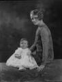 Elizabeth Ann Bevil Nelson (née Cary); Joan Sylvia Cary (née Southey), Viscountess Falkland (later Walker), by Lafayette (Lafayette Ltd) - NPG x49715