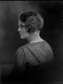 Joan Sylvia Cary (née Southey), Viscountess Falkland (later Walker), by Lafayette (Lafayette Ltd) - NPG x49716