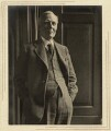 Herbert Albert Laurens Fisher, by Olive Edis - NPG x5194