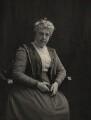 Helen Rose (née Banks), Lady Dewar, by (Mary) Olive Edis (Mrs Galsworthy), and  Katharine Legat (née Edis) - NPG x5200