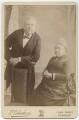 Sir James Anderson; Margaret (née Milligan), Lady Anderson, by Edwin Alfred Debenham (later Debenham & Gould) - NPG x56