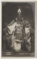 Murray Carrington as Pharaoh, by Guttenberg - NPG x5678