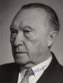 Konrad Adenauer, by Schafgans - NPG x5778