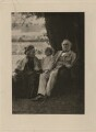 Catherine Gladstone (née Glynne); Dorothy Mary Catherine ('Dossie') Parish (née Drew); William Ewart Gladstone, by Robinson & Thompson, printed and published by  Swan Electric Engraving Co. - NPG x5980