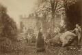 William Ewart Gladstone and family (including Catherine Gladstone (née Glynne), William Henry Gladstone and William Henry Gladstone), by Samuel E. Poulton - NPG x5983