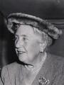 Agatha Christie, by Central Press - NPG x6026