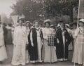 Suffragette March in Hyde Park, by Mrs Albert Broom (Christina Livingston) - NPG x17396