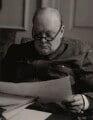 Winston Churchill, by Augustus Charles Cooper - NPG x6124