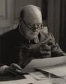 Winston Churchill, by Augustus Charles Cooper - NPG x6127