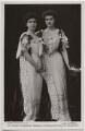 Margaret, Crown Princess of Sweden; Princess Patricia of Connaught (later Lady Patricia Ramsay), by W. & D. Downey, published by  Rotary Photographic Co Ltd - NPG x6348