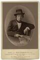 Benjamin Disraeli, Earl of Beaconsfield, by (Cornelius) Jabez Hughes - NPG x649