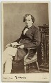 Benjamin Disraeli, Earl of Beaconsfield, by Mayall - NPG x656