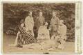 'Group taken at Hughenden Manor', by Henry William Taunt & Co - NPG x669