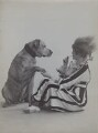 Gertie Millar as Jumping Jack with her dog 'Chum' in 'On The Tiles' a sketch from 'Bric-à-Brac', by Rita Martin - NPG x68979