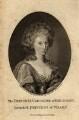 Caroline Amelia Elizabeth of Brunswick, by James Tookey, probably after  Friedrich Schroeder - NPG D10850