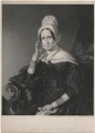 Queen Adelaide (Princess Adelaide of Saxe-Meiningen), by James Thomson (Thompson), after  John Lucas - NPG D10855