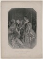 Drawing Room at St James's: The Presentation (Queen Victoria), by John Henry Robinson, published by  Peter Jackson, after  Alfred Edward Chalon - NPG D10863