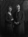 Ethel Katherine Hicks (née Savage); (Frederick Cyril) Nugent Hicks, by Lafayette (Lafayette Ltd) - NPG x70595